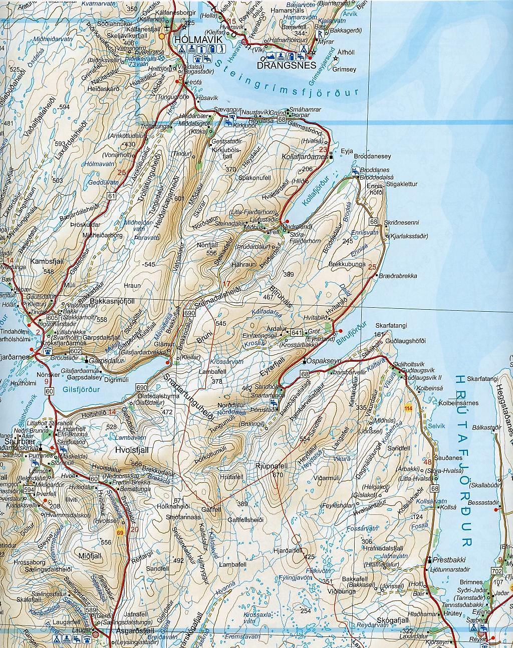 Iceland Road Atlas 1 : 200 000 Buch portofrei bei Weltbild.at