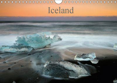Iceland, UK-Version (Wall Calendar 2019 DIN A4 Landscape), Rainer Grosskopf