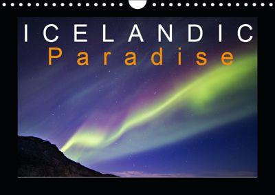 Icelandic Paradise (Wall Calendar 2019 DIN A4 Landscape), k.A. Tchaikovsky