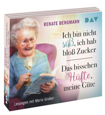 Ich bin nicht süss, ich hab bloss Zucker / Das bisschen Hüfte, meine Güte, 6 Audio-CDs, Renate Bergmann