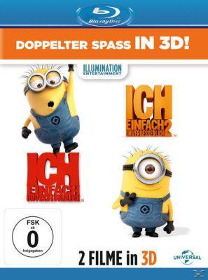Ich - Einfach unverbesserlich 1 & 2 - 3D-Version, Steve Carell ( (Originalstimme Gru))