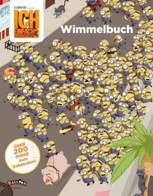Ich einfach unverbesserlich 3 - Wimmelbuch, Universal Studios