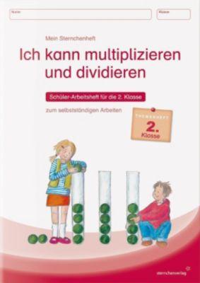 Ich kann multiplizieren und dividieren - Schülerarbeitsheft für die 2. Klasse zum selbstständigen Arbeiten, Katrin Langhans