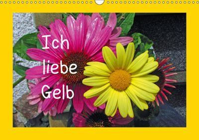 Ich liebe Gelb (Wandkalender 2019 DIN A3 quer), Christa Kramer