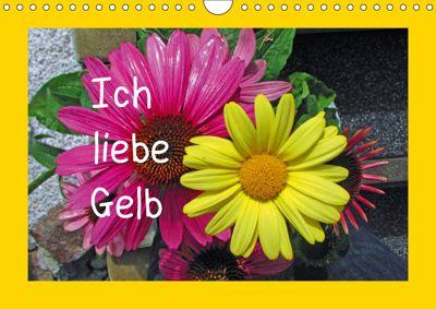 Ich liebe Gelb (Wandkalender 2019 DIN A4 quer), Christa Kramer