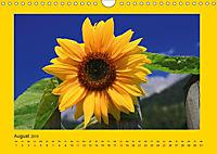 Ich liebe Gelb (Wandkalender 2019 DIN A4 quer) - Produktdetailbild 8