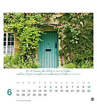 Ich wünsch dir Tage voller Glück Postkartenkalender 2018 - Produktdetailbild 6