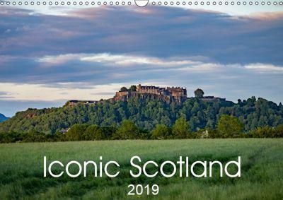 Iconic Scotland (Wall Calendar 2019 DIN A3 Landscape), Alan Maitland