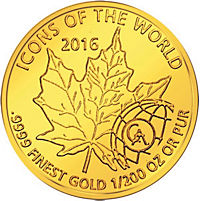Icons of the world - Goldmünze - Produktdetailbild 4