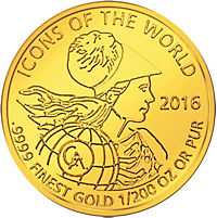 Icons of the world - Goldmünze - Produktdetailbild 6