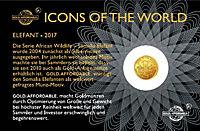 Icons of the world - Goldmünze - Produktdetailbild 2