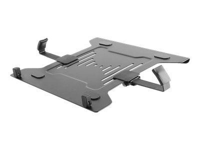 ICY BOX IB-MSA101-LH Notebookhalterung als Zubehoer fuer Monitorstaender mit VESA 75x75 / 100x100 Unterstuetzung