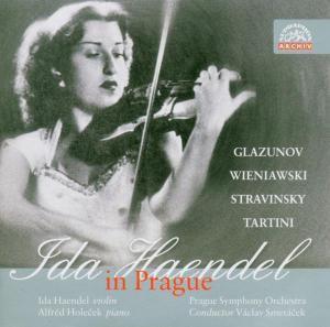 Ida Haendel In Prague, Ida Haendel, Prague So