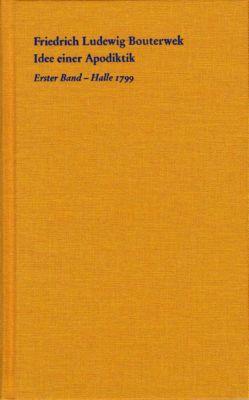 Idee einer Apodiktik, Friedrich Ludewig Bouterwek