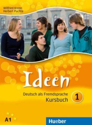 Ideen - Deutsch als Fremdsprache: Bd.1 Kursbuch, m. CD-ROM, Wilfried Krenn, Herbert Puchta