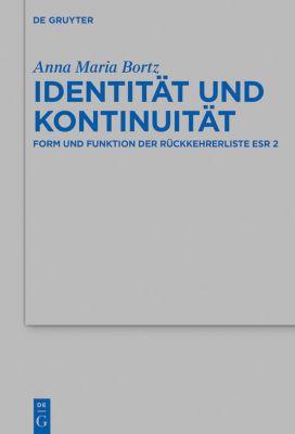 Identität und Kontinuität, Anna Maria Bortz