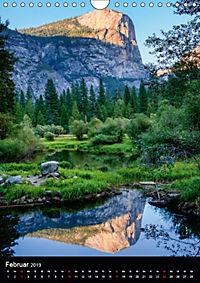 Idylle Pur - Der Yosemite National Park (Wandkalender 2019 DIN A4 hoch) - Produktdetailbild 2