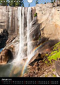 Idylle Pur - Der Yosemite National Park (Wandkalender 2019 DIN A4 hoch) - Produktdetailbild 1