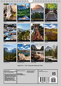 Idylle Pur - Der Yosemite National Park (Wandkalender 2019 DIN A4 hoch) - Produktdetailbild 13
