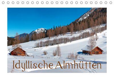 Idyllische Almhütten (Tischkalender 2019 DIN A5 quer), Christa Kramer