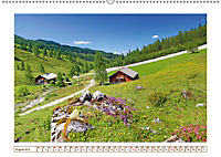 Idyllische Almhütten (Wandkalender 2019 DIN A2 quer) - Produktdetailbild 8