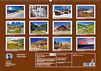 Idyllische Almhütten (Wandkalender 2019 DIN A2 quer) - Produktdetailbild 13