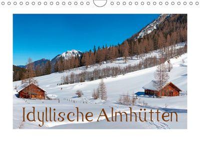 Idyllische Almhütten (Wandkalender 2019 DIN A4 quer), Christa Kramer