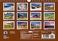 Idyllische Almhütten (Wandkalender 2019 DIN A4 quer) - Produktdetailbild 13