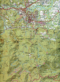 IGN Karte, Carte de randonnée (et plein air) Céret - Amélie-les-Bains-Palalda - Vallée du Tech - Produktdetailbild 2
