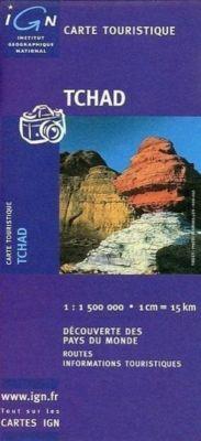 IGN Karte, Carte touristique Tchad