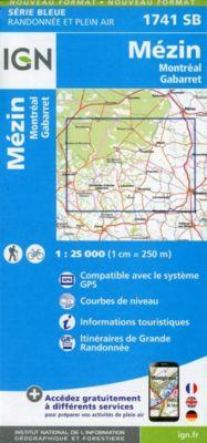 IGN Karte, Mézin Montréal, Gabarret
