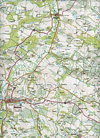 IGN Karte, Mézin Montréal, Gabarret - Produktdetailbild 2