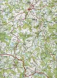 IGN Karte, Serie Bleue Aubusson, Auzances - Produktdetailbild 2