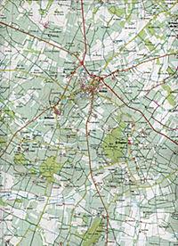 IGN Karte, Serie Bleue Barbezieux-Saint-Hilaire.Baignes-Sainte-Radegonde - Produktdetailbild 2