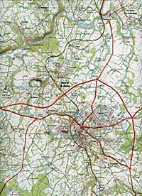 IGN Karte, Serie Bleue Bellac Adriers - Produktdetailbild 2