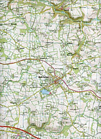 IGN Karte, Serie Bleue Carhaix-Plouguer Maël-Carhaix - Produktdetailbild 2