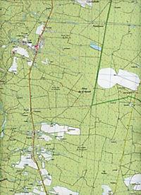 IGN Karte, Serie Bleue Labrit.Brocas.Ygos-St.Saturnin - Produktdetailbild 2