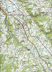 IGN Karte, Serie Bleue Lavaveix-les-Mines, Pontarion - Produktdetailbild 2