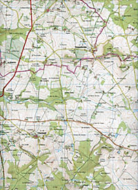 IGN Karte, Serie Bleue Montmoreau, St-Cybard, Villebois-Lavalette - Produktdetailbild 2