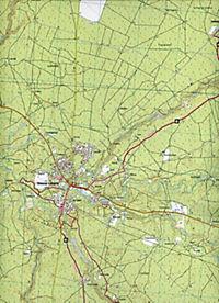 IGN Karte, Serie Bleue Morcenx des Rion-des-Landes - Produktdetailbild 2
