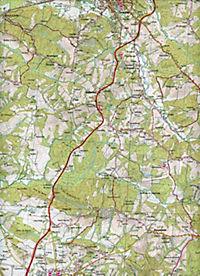 IGN Karte, Serie Bleue Orthez Salies-de-Béarn - Produktdetailbild 2