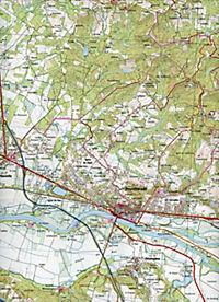 IGN Karte, Serie Bleue Peyrehorade, Hasparren - Produktdetailbild 2