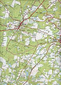 IGN Karte, Serie Bleue Roquefort, Cazaubon - Produktdetailbild 2