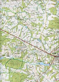 IGN Karte, Serie Bleue Villeneuve de Marsan, Nogaro - Produktdetailbild 2