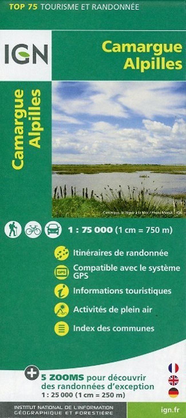 Camargue Karte.Ign Karte Tourisme Et Randonnée Camargue Alpilles Jetzt Kaufen