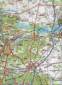 IGN Karte, Tourisme et vélo Paris Compiègne - Produktdetailbild 2