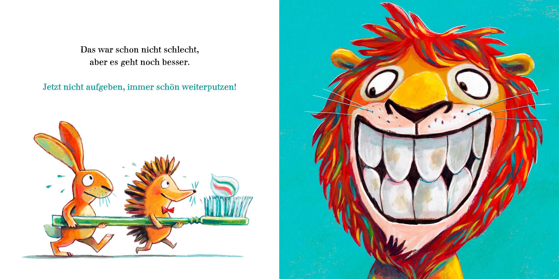 Ignaz Igel Hilf Dem Löwen Zähne Putzen Buch Versandkostenfrei