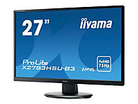 IIYAMA AMVA+ Panel- LED 4ms 1920x1080 300cd/m  3000:1 typisch VGA HDMI DisplayPort HDCP USB-HUB 2.0 (1x up 2x down) - Produktdetailbild 2
