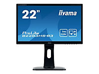 IIYAMA ProLite B2283HS-B3 54,7cm 21,5Zoll 16:9 FHD LED backlit monitor 1 ms 250cdm  12 Mio:1 HDMI VGA DisplayPort - Produktdetailbild 5