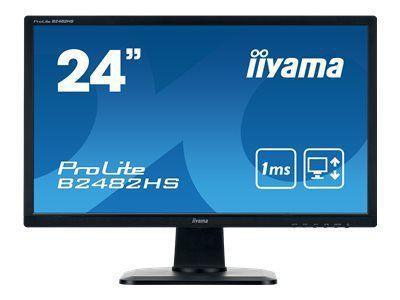 IIYAMA ProLite B2482HS-B1 60,96cm 24Zoll LCD Business Full HD LED 1920 x 1080 TN panel LED Bl HDMI